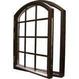 Fönster 323 Sidohängda eller överkantshängt, Isolerglas.
