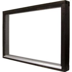 Fönster 151 Fast karm, Enkelglas
